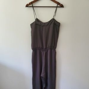 Zara basic black jumpsuit ROMPER size small